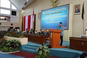 DPRP Terima Materi LKPJ Gubernur Papua Tahun Anggaran 2019. (3)
